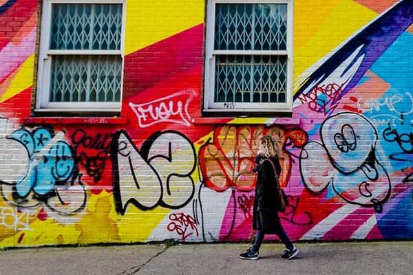 London Graffiti area
