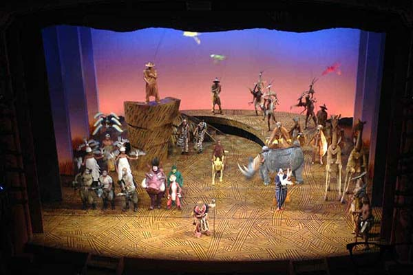 Lion king Show at West End