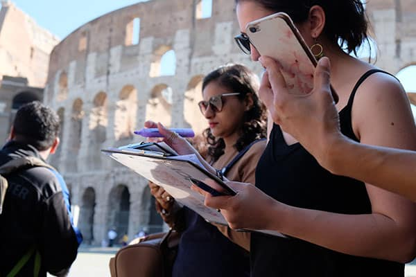 Colosseum Tour with Get Your Guide
