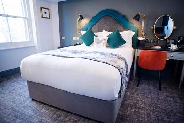 Blackbird London, great hotel for couples