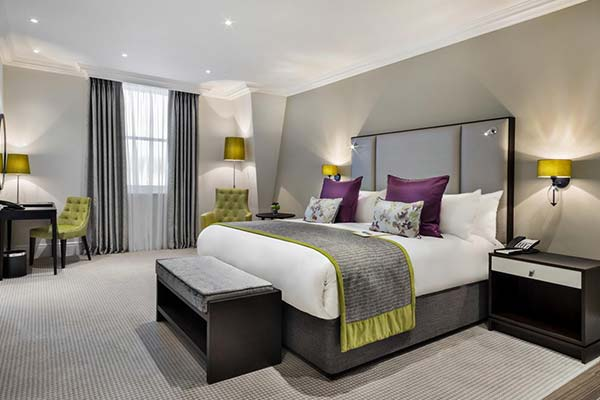 room at St James court Hotel, London