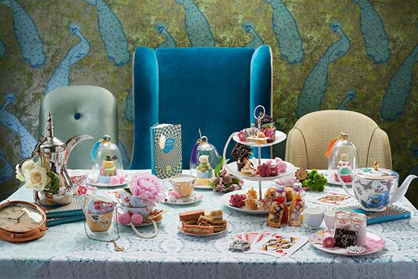 Afternoon tea kids party at St James hotel in London