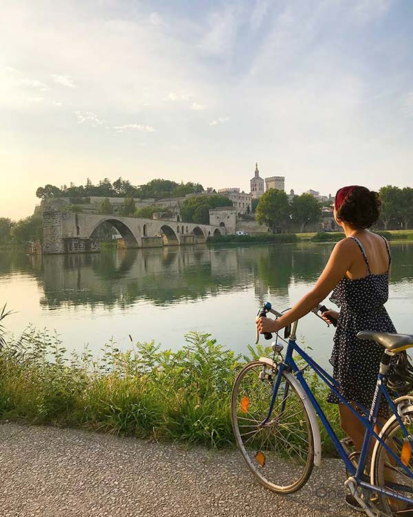 One of the most beautiful towns in France: Avignon