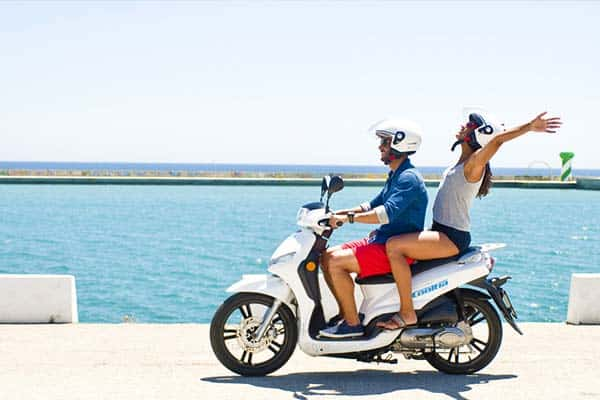 Cooltra Electric Scooters in Barcelona for rent