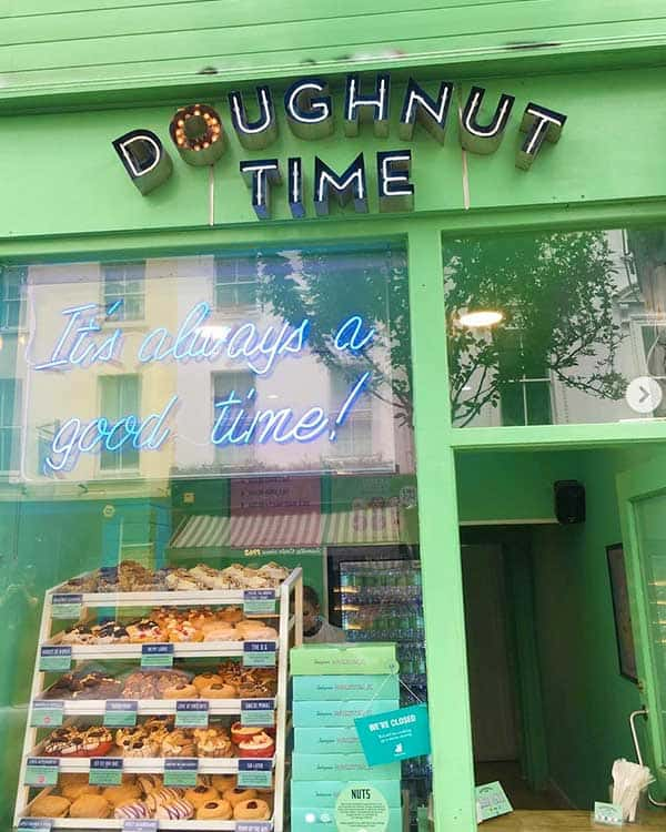 Doughnut time London