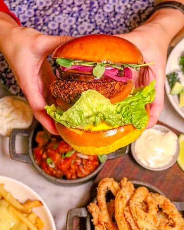 Hache Burger, best burger in London