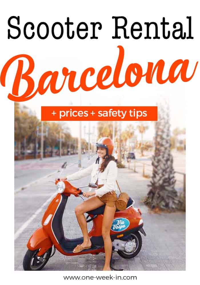 Scooter Rental in Barcelona - Safety, Where to rent and Prices