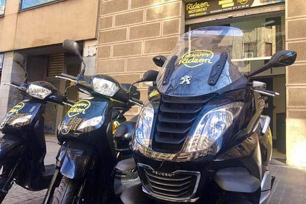 Ride On Motorbike Rental in Barcelona