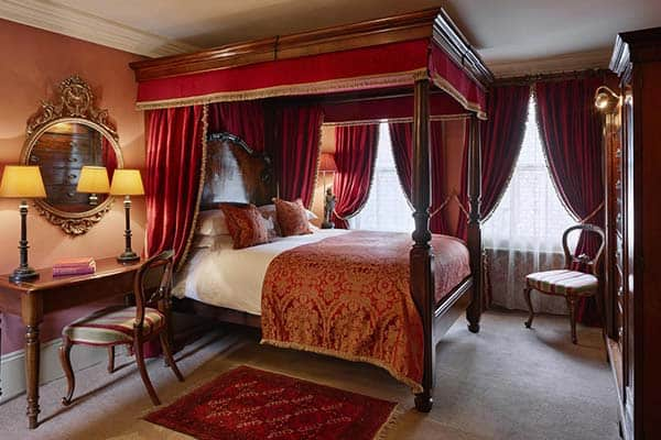room at The Rookery hotel London