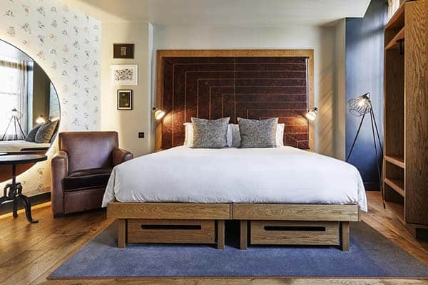 Great accommodation in London for solo travelers, The Hoxton