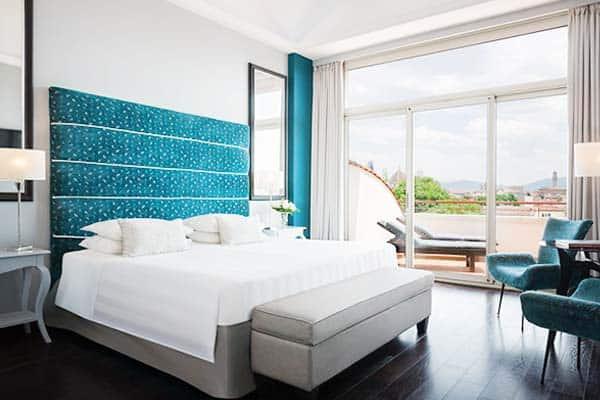 Sina villa Medici, luxury hotel in Florence