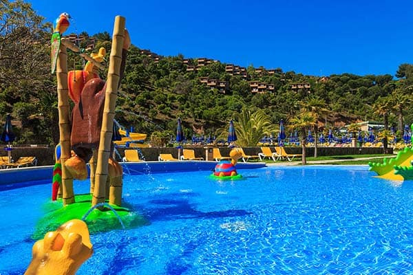 A kid's pool is offered for families traveling with their children at Arenas Resort Giverola