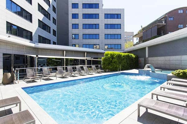 Take a dip into Hotel SB Icaria's pool and enjoy the heat