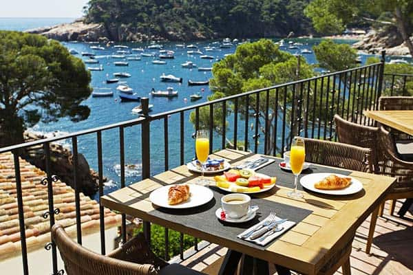 Without a doubt that you'll love the view of the bays of Aiguablava