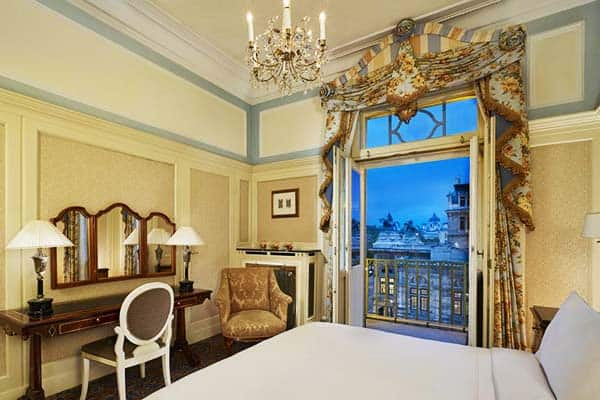 Opened in the 1890s, Hotel Bristol has retained all of its traditional charms through the years as a Luxury Collection Hotel