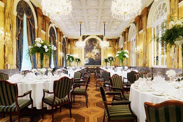 Frequented by celebrities and royals, Hotel Imperial is the height of traditional Viennese charm