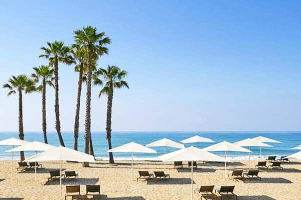 Love the sun and the sand at Le Meridien RA Hotel's beachfront