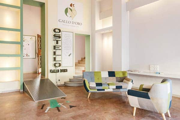 Gallo d'Oro, great hostel for solo traveller in Florence