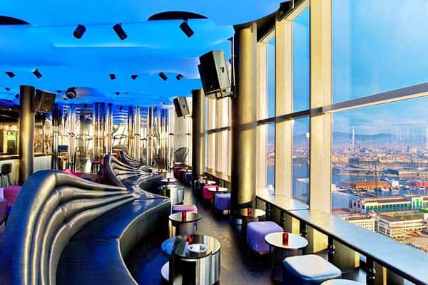 Enjoy different cuisines from all over the world at W Hotel's restaurant