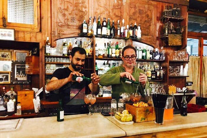 Step back in time and have a drink at Bar Marsella