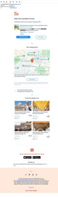 Reminder Email by Get Your Guide for Colloseum Tour