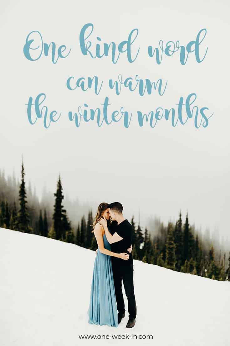 Winter quotes for winter