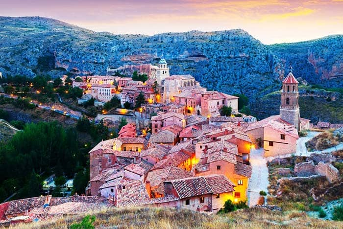 Visit the beautiful medieval city perched on a mountaintop