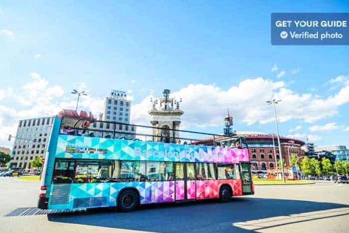 Ride the Turistic Bus during the summer which tours you around the city at night
