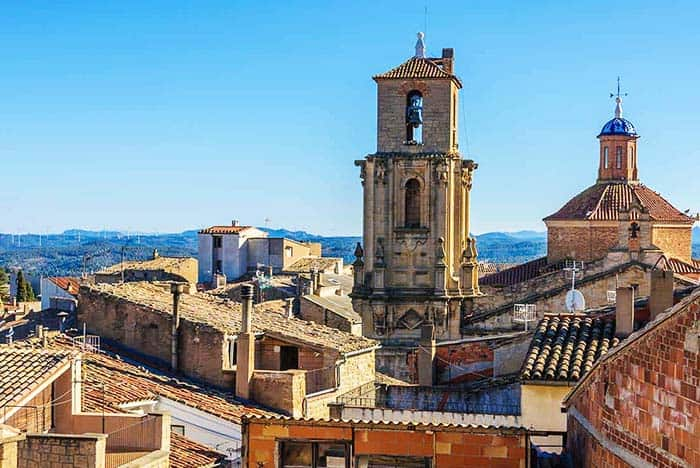See the preserved buildings and monuments in Calaceite Spain