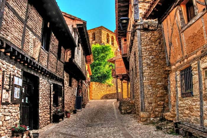 Go back in time and see the old, authentic, and medieval Calatañazor Spain