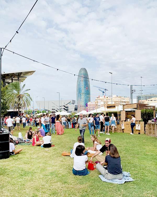 Vintage market Barcelona special event