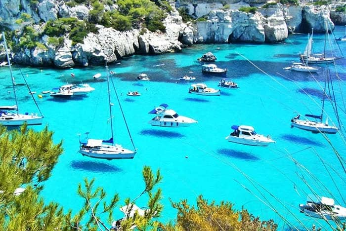 You will love island of Menorca Spain with its beautiful waters