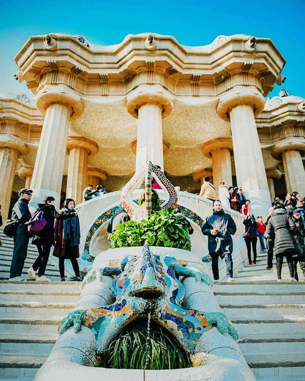 Book your park guell ticket beforehand