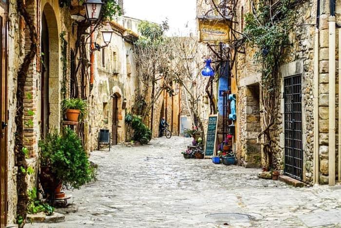 Peratallada is a fairytale medieval town in Costa Brava