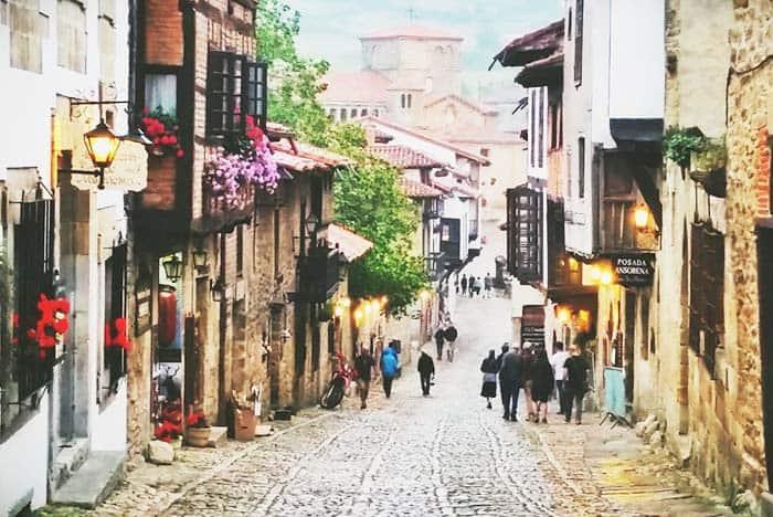 Santillana Del Mar is a cute village that is worth to visit