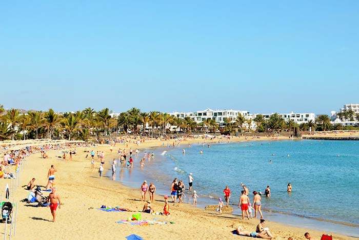 Have a wonderful time at the beach in Teguise Spain