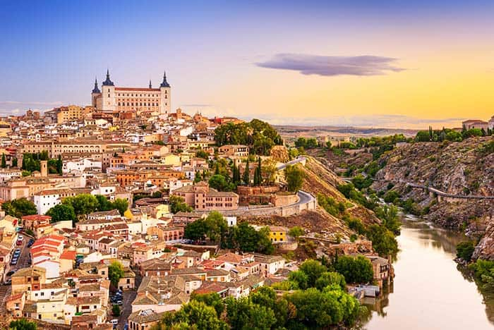 "Toledo is also known as known as the ""Imperial City"" and ""The City of the three cultures"""
