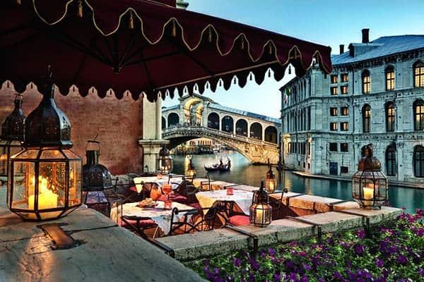 Al Ponte Antico Venice Restaurant