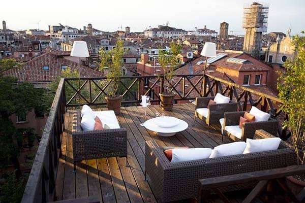 Aman Venice Rooftop Terrace