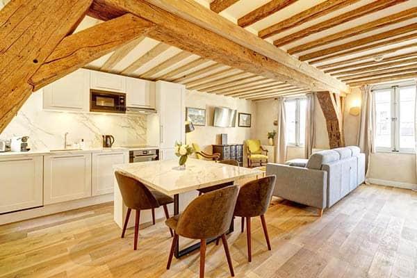 Apartments Du Louvre Paris Kitchen