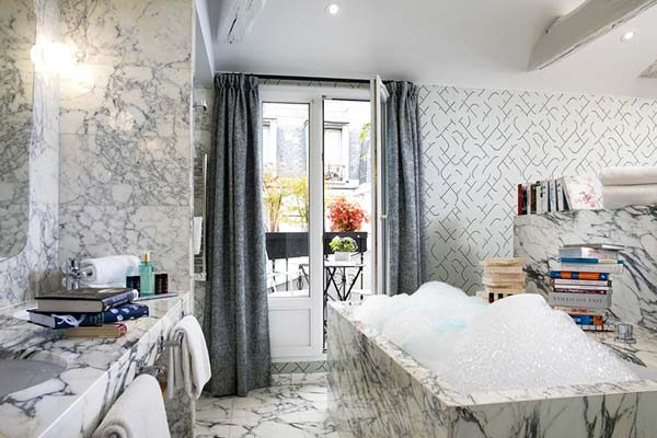 Artus Hotel Paris Bathroom
