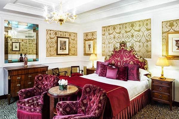 Baglioni Hotel Regina Rome Room