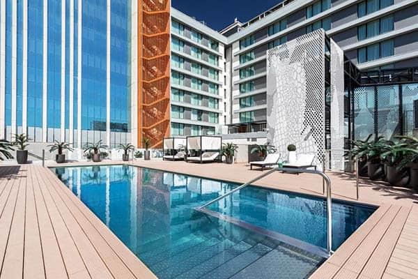 Barcelo Imagine Madrid Rooftop Pool