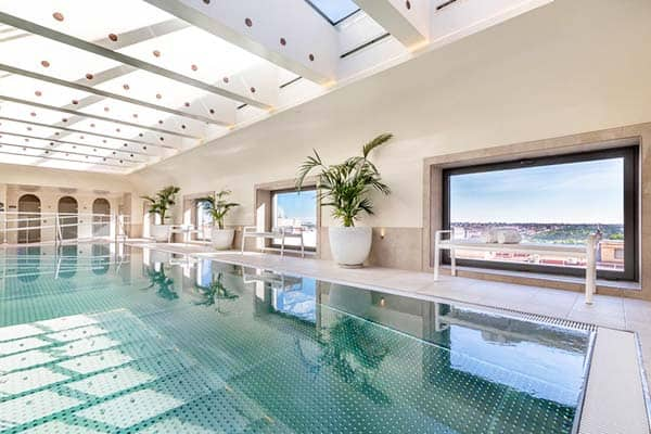 Barcelo Torre De Madrid Indoor Pool