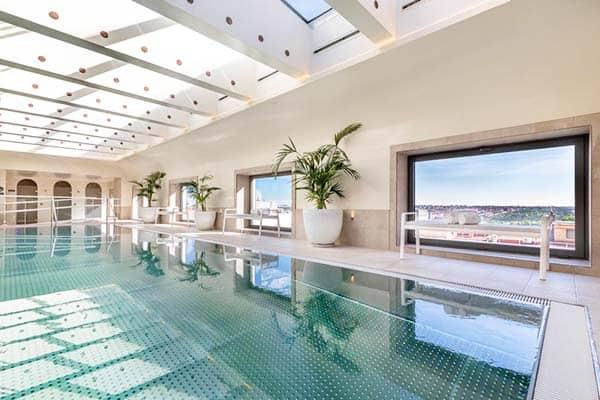Barcelo Torre De Madrid Indoor Pool