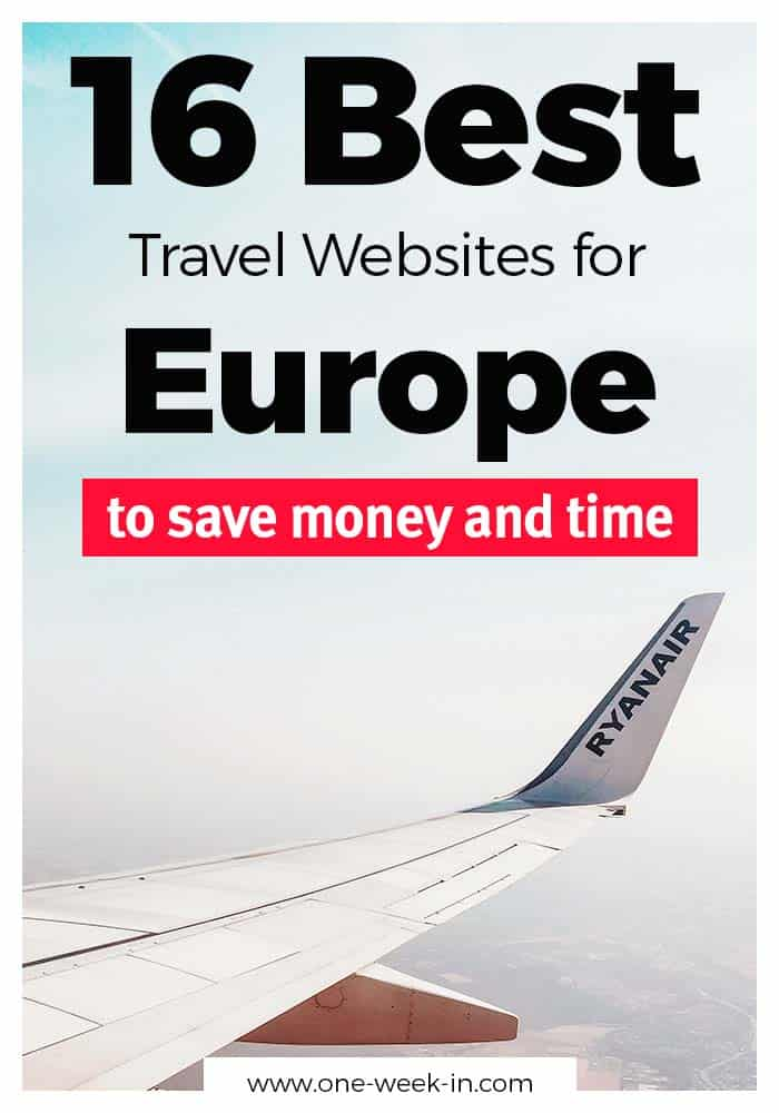 16 Best Websites and Tools we use to travel Europe