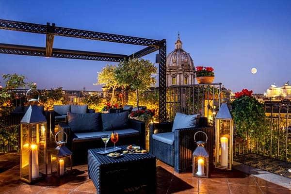 Boutique Hotel Campo de' Fiori Rome Rooftop Terrace
