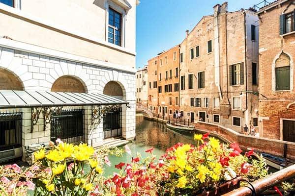 Ca' Maria Callas Venice Terrace View