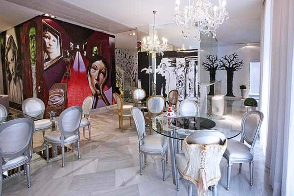 Dormirdcine Madrid Dining Area