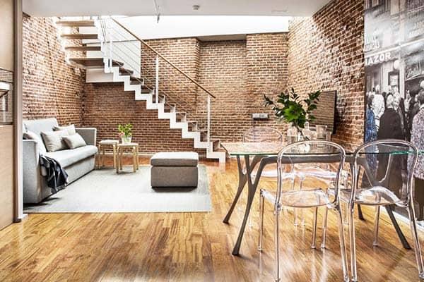 Eric Vökel Boutique Apartments - Madrid Suites Living Area